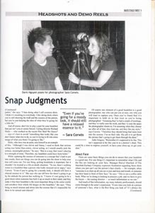 Backstage West - Snap Judgments - Page 2